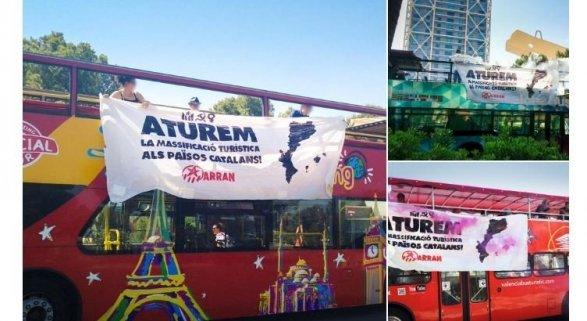 Ataque coordinado de Arrán en Barcelona, Valencia y Palma