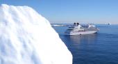 Seabourn construirá dos barcos de expedición con submarinos a bordo Fotograma del vídeo Seabourn's Antarctica vía Youtube