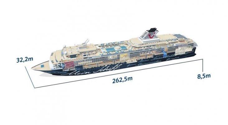 El viejo Mein Schiff 2 surcará las aguas canarias el próximo invierno