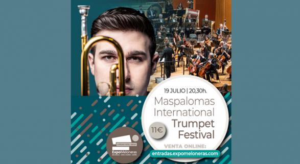 Expomeloneras acogerá 3 de los conciertos del Festival Internacional de Trompeta de Maspalomas