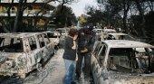 Incendios en Grecia dejan 49 muertos y centenares de heridos