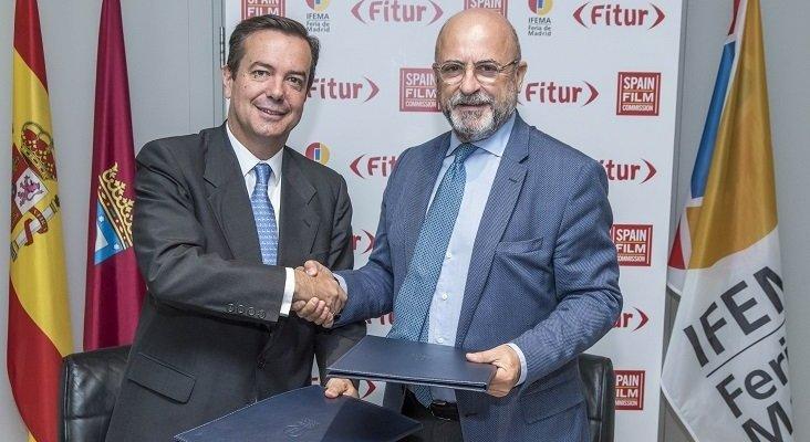 Fitur estrenará una nueva sección de turismo cinematográfico en 2019|Foto: Eduardo López-Puertas junto con Carlos Rosado vía  Ifema