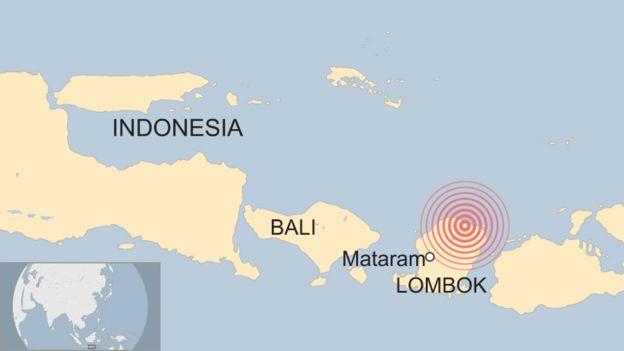 Terremoto en Lombok