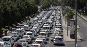 huelga de  taxis, Foto: EFE