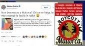 Guerra abierta entre el vicepresidente Salvini y Mallorca