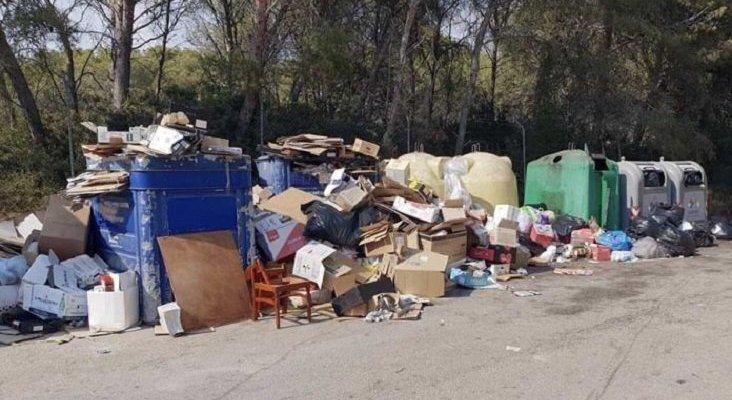 Municipio más extenso de Mallorca, inundado de basura|Foto: Crónica Global