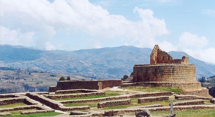 México asesorará a Ecuador para su promoción turística Foto: Ingapirca, ruinas incas en Ecuador-  Delphine Ménard CC BY-SA 2.0 FR