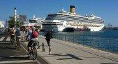 Turismo de cruceros crece un 23,5% y deja a 4,4 millones de pasajeros|Crucero Costa Mágica en el Puerto de Las Palmas de Gran Canaria- JUAN RAMON RODRIGUEZ SOSA CC BY-SA 2.0