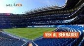 Entradas para el Bernabéu para el agente que más reserve con Meliá