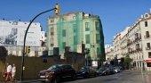 Málaga dividida ante el derrumbe de un edifico histórico para construir hotel|Foto: edificio La Mundial- Toñi Guerrero vía El Confidencial