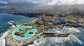 Tenerife comienza la temporada de invierno con un 5,5% más de turistas|Foto: Puerto de la Cruz desde el aire