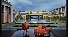 Marriott sigue creciendo en la India |Foto: Entrada del hotel Sheraton Grand Chennai Resort and Spa vía Marriot .com