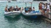 Costas multa con 3.000 euros a los 'water taxis' de Fuerteventura|Foto: 'water taxis' en Lobos vía Canarias 7