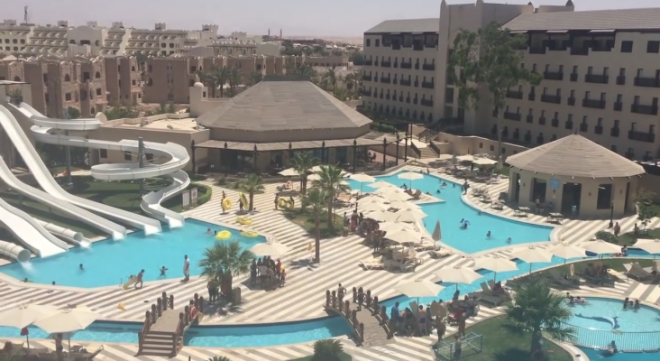 Empleada de Thomas Cook muere en hotel de Egipto. Foto: YouTube