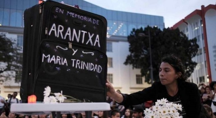 Costa Rica invierte 3,5 millones para combatir los crímenes contra turistas|Foto: Homenaje a las turistas asesinadas, Arancha y María Trinidad- Efe vía El Economista