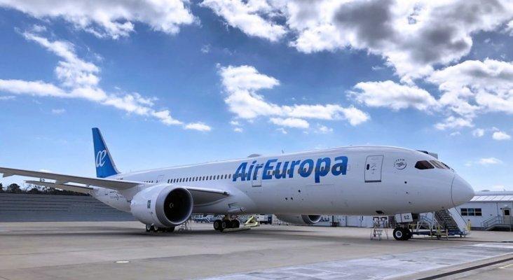 El robo de un móvil retrasa un vuelo de Air Europa