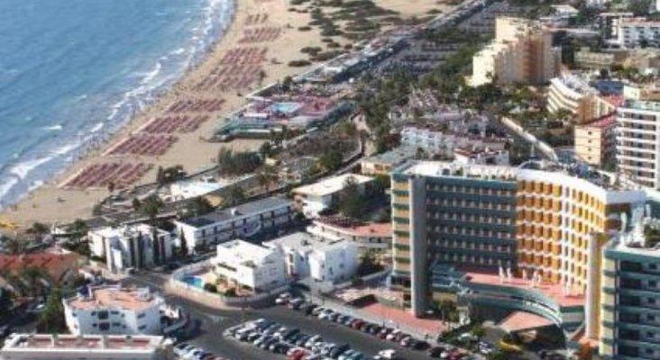 Vista general de Playa del Inglés Gran Canaria