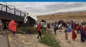 Tres turistas españoles fallecen en un accidente en Tanzania