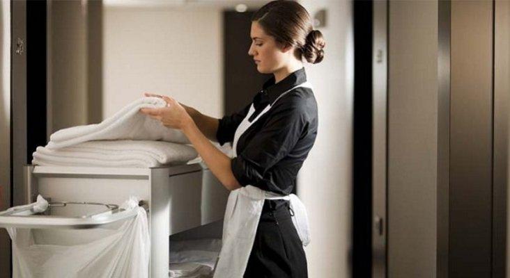 Lanzan Guía de buenas prácticas laborales para camareras de piso|Foto: CB vía Crónica Global