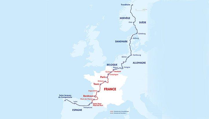 Scandibérique, la oportunidad de recorrer en bici 7 países de Europa
