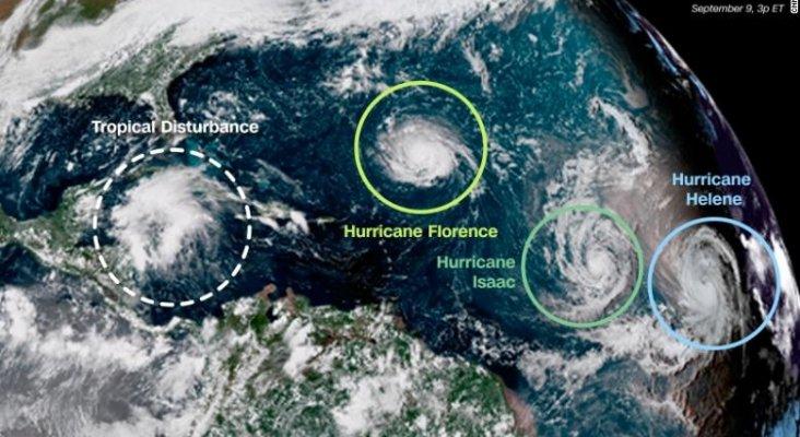 Florence no es el único huracán que se gesta en el Atlántico|Foto: CNN