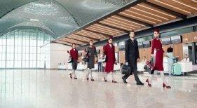 Turkish Airlines se viste de 'alta costura' para el nuevo aeropuerto de Estambul| Foto: Daily News