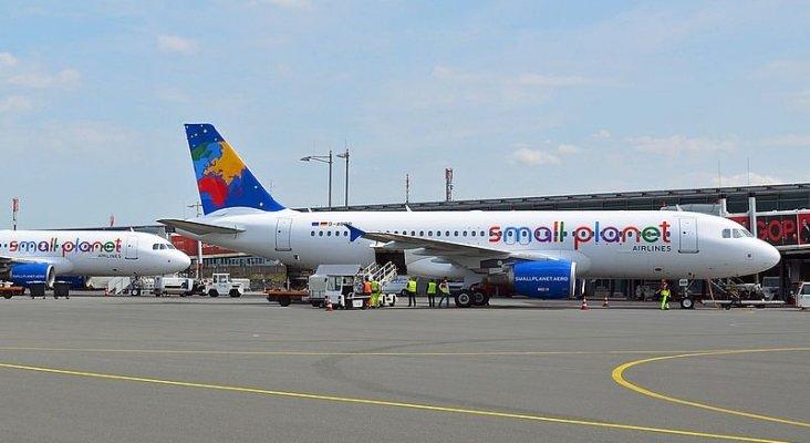 Small Planet  volará para TUI, Thomas Cook, DER Touristik y  FTI a pesar de insolvencia|Foto: Wikimedia vía Touristik Aktuell