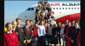 Turkish Airlines propietaria de la primera aerolínea de bandera albanesa|Foto: Edi Rama vía
