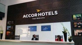 Recepción de un establecimiento de AccorHotels