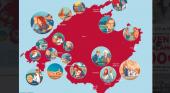 Mallorca convence a las productoras de cine estadounidenses|Foto: 'Movie map' interactivo vía diariodemallorca.com