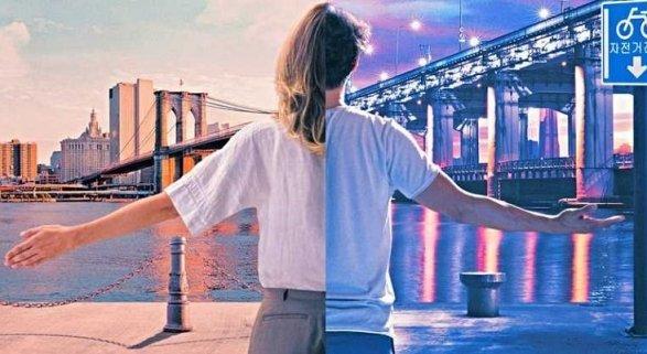 'East and West Side Story' el primer corto elaborado por una aerolínea y aeropuerto|Foto: Cartel del corto vía Movie Web