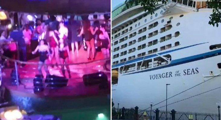 1.300 pasajeros convierten crucero en fiesta sexual