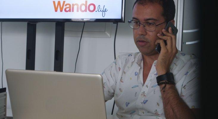 Nicólás Suárez Rodríguez, gerente de WandoExperiences|Foto: Alejandro Umpiérrez Acosta