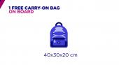 Wizz Air se aprovecha de la controvertida política de equipajes de Ryanair