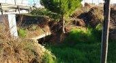Aena alerta sobre torrente taponado cerca del Aeropuerto de Ibiza
