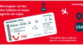 TUI y Norwegian lanzan una campaña conjunta para premiar a los agentes de viajes