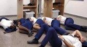 Ryanair toma represalias contra los tripulantes que durmieron en el suelo