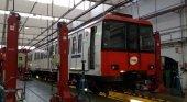 Detectan sustancia cancerígena en 38 vagones del metro de Barcelona|Foto: Uno de los vagones analizados- Alba Jaumandreu vía El Periódico