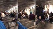 Escalera mecánica loca deja más de 20 heridos en metro de Roma | Foto: cuatro.com