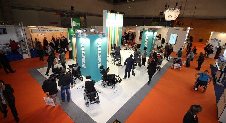 Feria de ortopedia para mejorar la accesibilidad turística|Foto: Expositor de Karma Mobility- tododisca