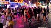 Mallorca celebrará una cumbre internacional contra el turismo de borrachera Foto: Ocio nocturno en Magaluf- Metro
