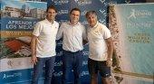 El primer Rafa Nadal Tennis Centre internacional abrirá en noviembre|Foto: Rafa Nadal junto con Abel Matutes y Toni Nadal