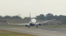 Despegue de infarto de un avión de Ryanair rumbo a Canarias|Foto: flugsnug
