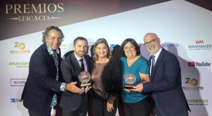 La marca Islas Canarias, ganadora por tercera vez consecutiva de los premios Eficacia