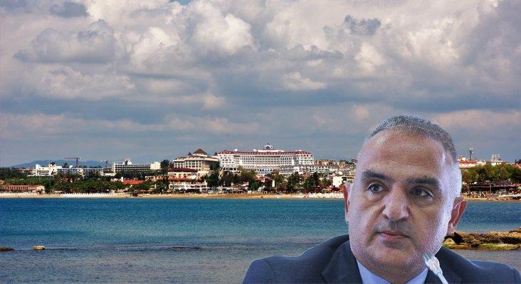 El ministro de Cultura y Turismo de Turquía, Mehmet Nuri Ersoy