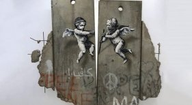 Banksy debuta en la World Travel Market 2018