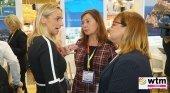 Armengol y Busquets con la presidenta de la Federación Hotelera de Mallorca