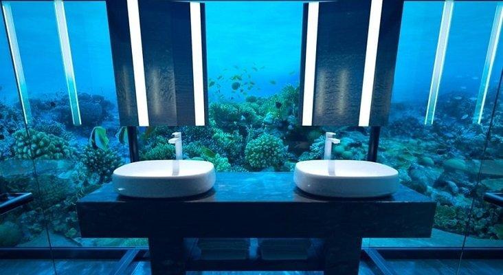 Abre sus puertas el primer hotel submarino del mundo|Foto: conradmaldives.com