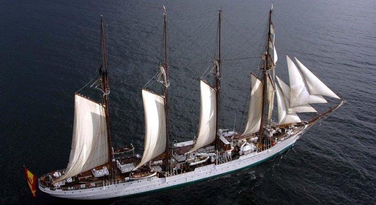 Cádiz pide que 'Elcano' compita en la Regata de Grandes veleros 2020|Foto: AEP vía DiariodePontevedra