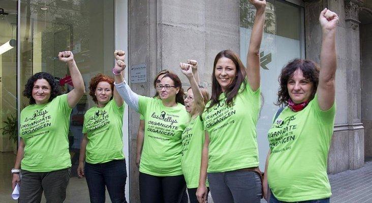 """Las Kellys reivindican su """"independencia y autonomía"""" política Foto: Integrantes de la Asociación Las Kellys- laskellys.org"""
